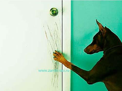 Как открыть защелку двери снаружи